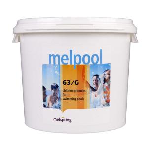 Дезинфектант для бассейна на основе хлора быстрого действия Melpool 63/G