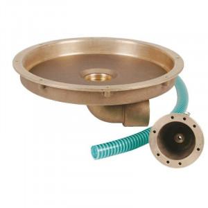 Закладная Fitstar 8500050 для гейзера 8530020 и пневмокнопки , выход 90°, ? 344 мм